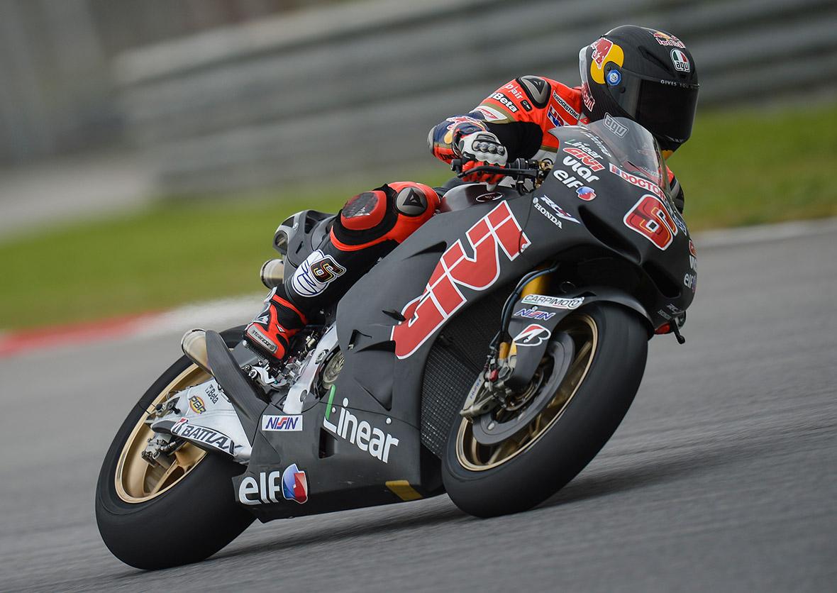 Moto GP 2015 mit Stephan Bradl live auf dem Saschenring