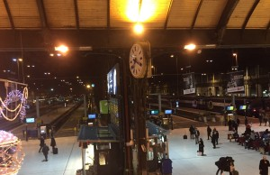 Gare de Lyon , Train Blue